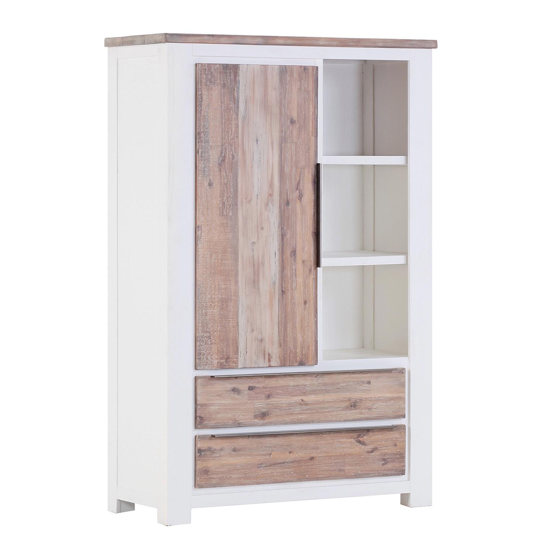 kommode doral akazie teilmassiv braun wei maison belfort m bel preiswert online kaufen. Black Bedroom Furniture Sets. Home Design Ideas