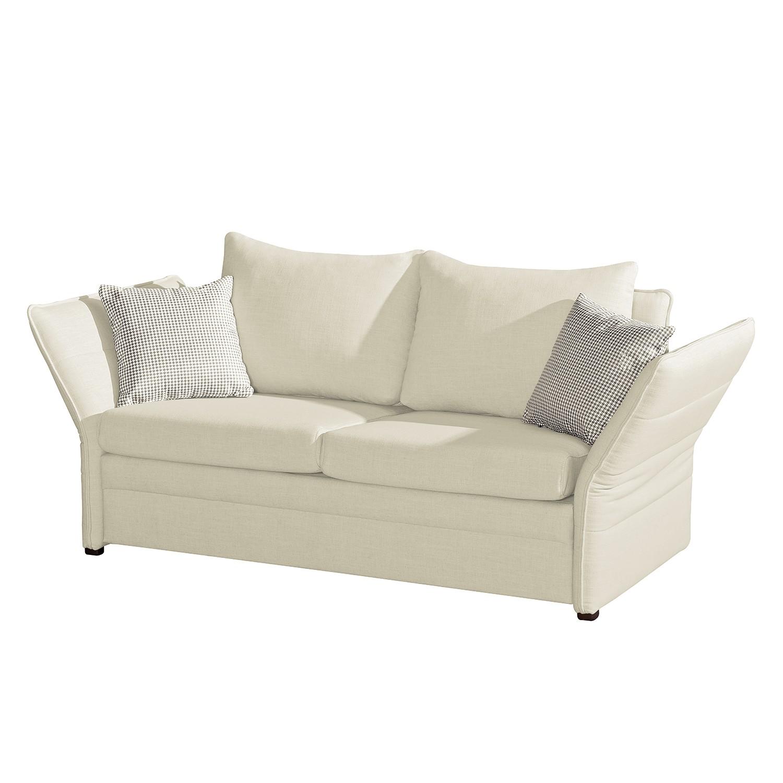 schlafsofa coos strukturstoff beige fredriks m bel preiswert online kaufen vergleichen. Black Bedroom Furniture Sets. Home Design Ideas