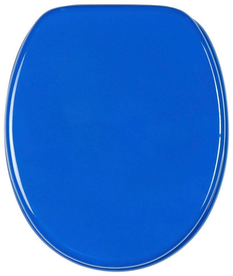 sanilo sanilo wc sitz basic mit absenkautomatik blau m bel preiswert online kaufen. Black Bedroom Furniture Sets. Home Design Ideas