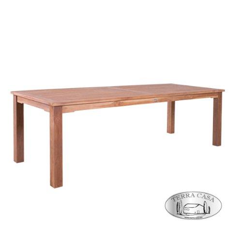 Esstisch PADANG 240 cm Teakholz Tisch eckig Gartentisch Gartenmöbel ...
