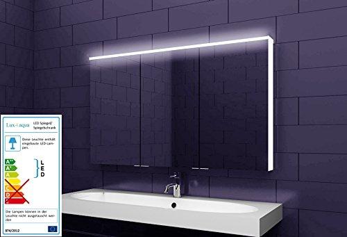 Alu Badezimmer Spiegelschrank Led Und Bluetooth Lautsprecher 122 X