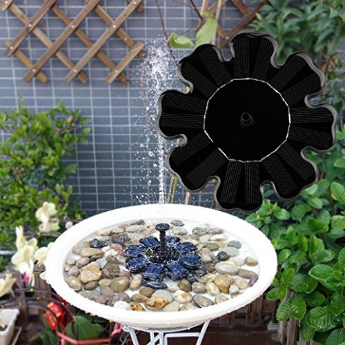 upxiang solar springbrunnen freie stehende brunnen wasser schwimmende pumpe outdoor solar. Black Bedroom Furniture Sets. Home Design Ideas