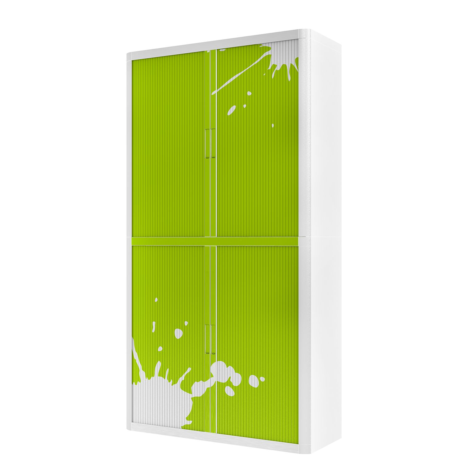 Aktenschrank easyOffice Stickers II - Hellgrün - 204 cm, easy Office und Paperflow