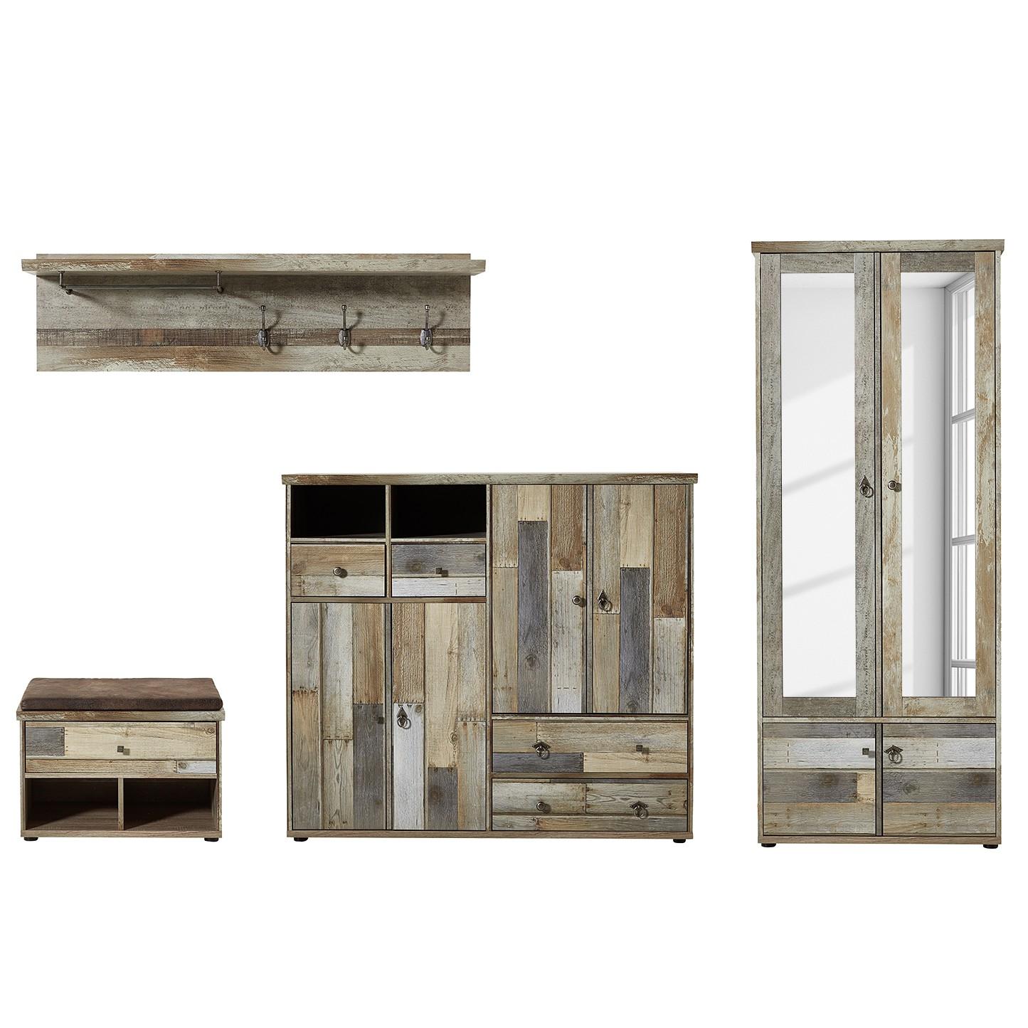 schrank tapara braun grau roomscape m bel preiswert. Black Bedroom Furniture Sets. Home Design Ideas