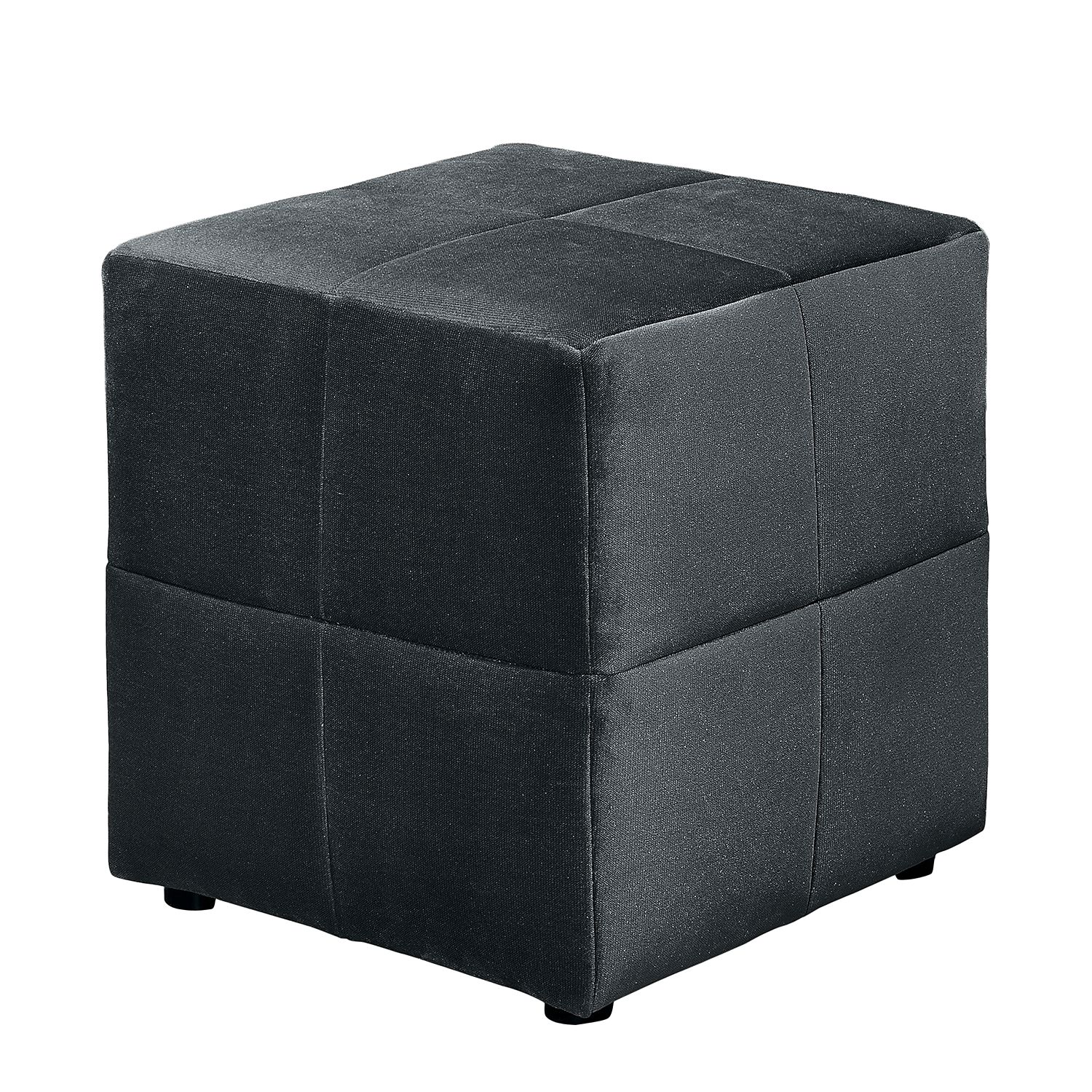 Hocker Gowan - Webstoff - Schwarz, Red Living