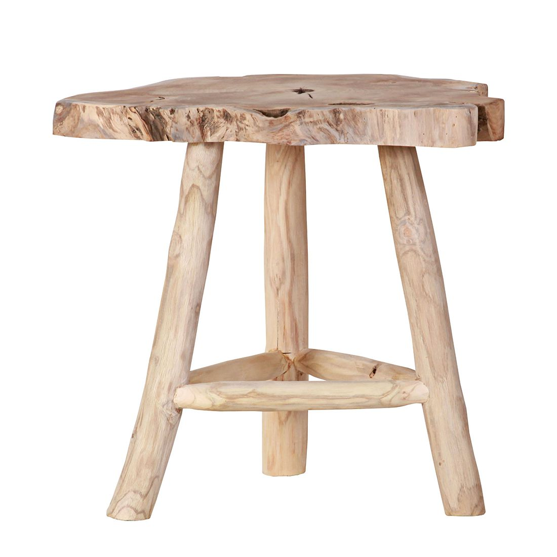 Hocker Wilton - Massivaltholz Teak, ars manufacti