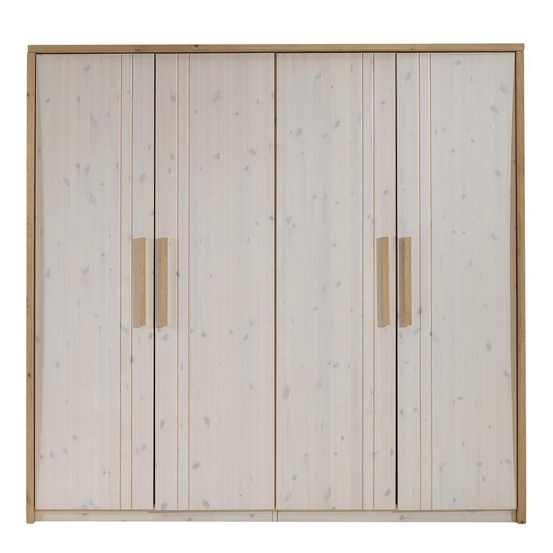 Kleiderschrank KiYDOO wood - Kiefer massiv, KIYDOO | Möbel preiswert ...