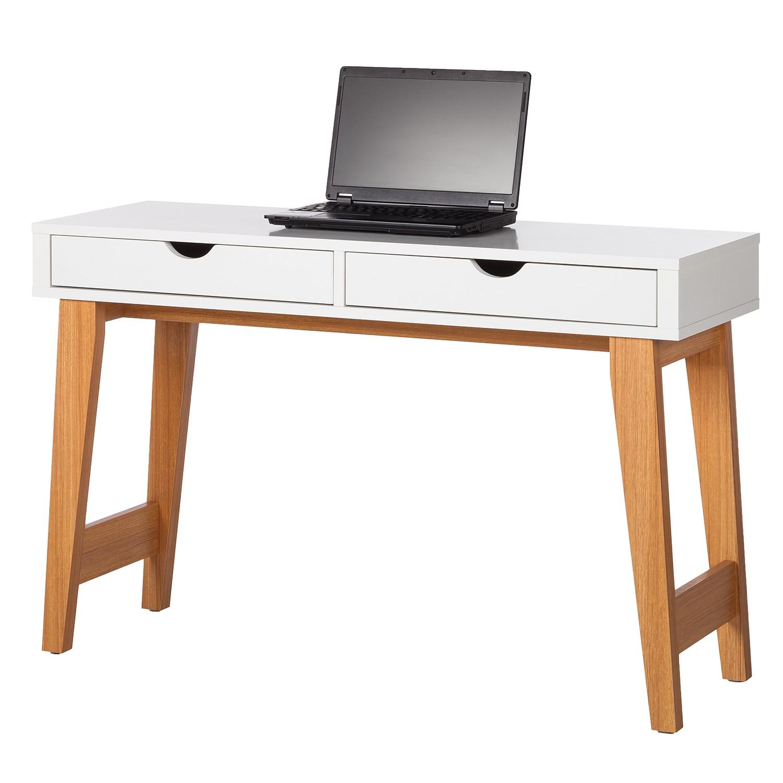 Schreibtisch Schiller - Eiche / Weiß, Morteens   Möbel preiswert ...