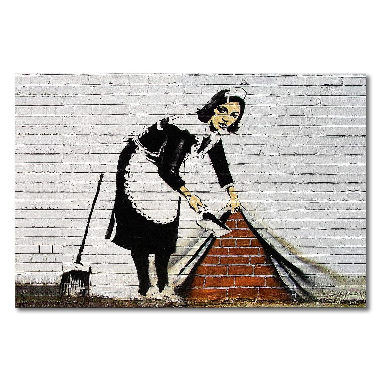 banksy bilder kaufen flower chucker thrower street art by. Black Bedroom Furniture Sets. Home Design Ideas