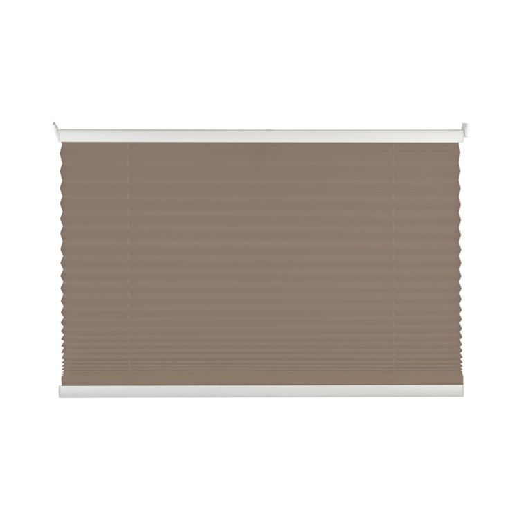 Plissee Free III - Taupe - 100 x 130 cm, mydeco