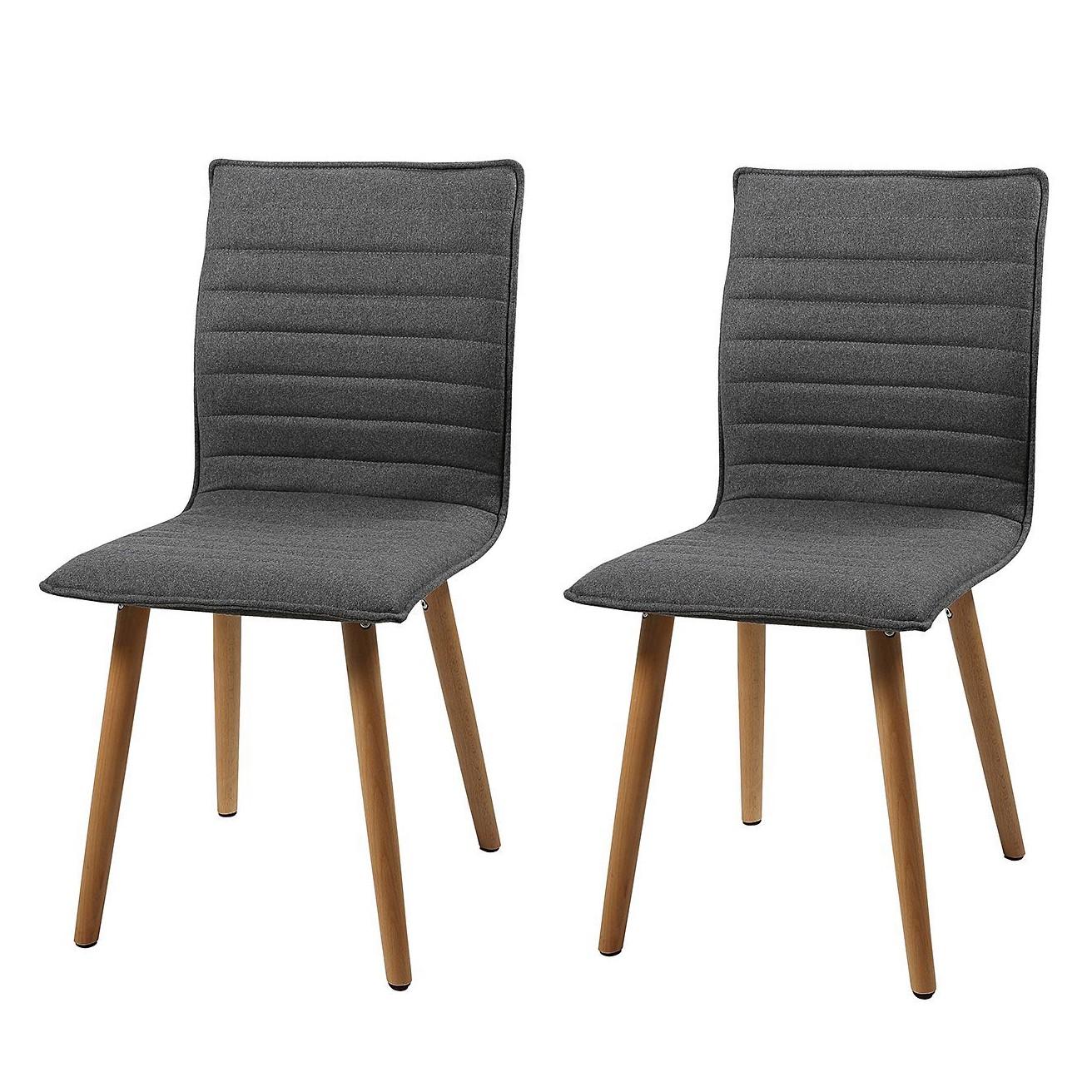 Morteens Möbel polsterstuhl volda webstoff grau morteens möbel preiswert