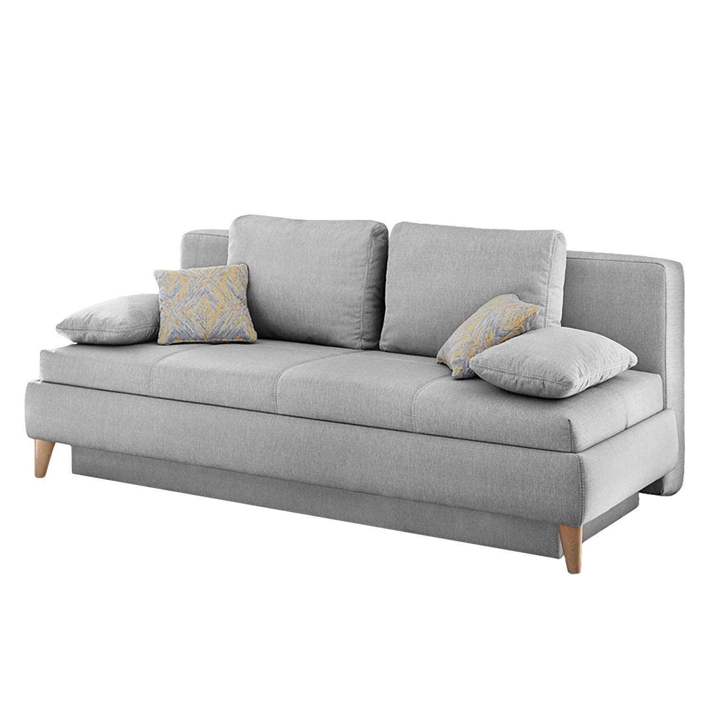 schlafsofa silvassa webstoff grau home design m bel. Black Bedroom Furniture Sets. Home Design Ideas