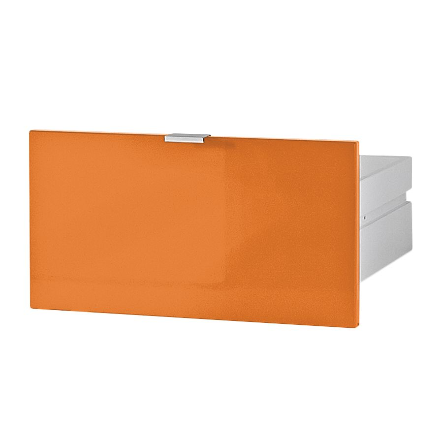 Schublade Colorado - Hochglanz Orange, Top Square