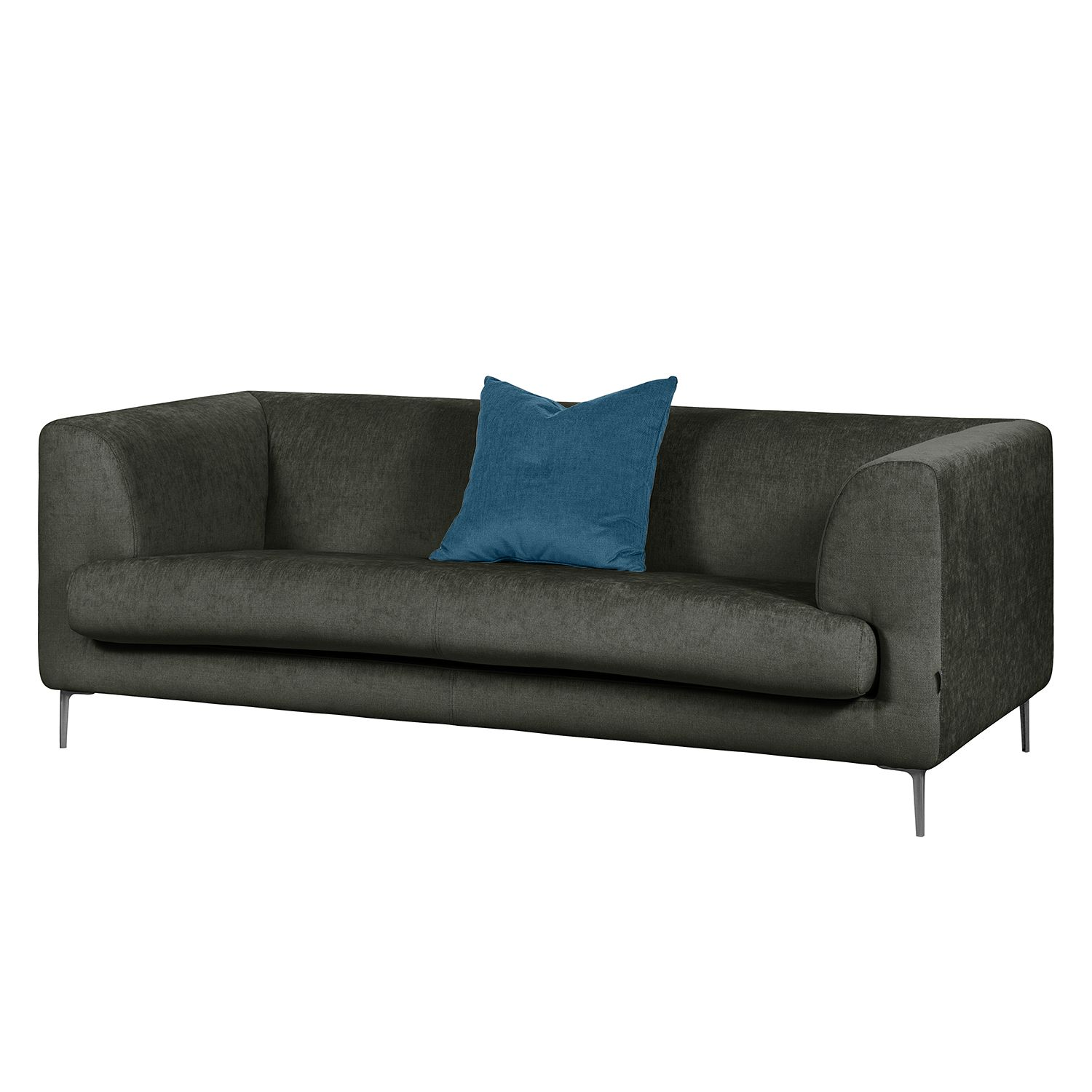 Sofa Sombret (2,5-Sitzer) - Webstoff - Anthrazit, Says Who
