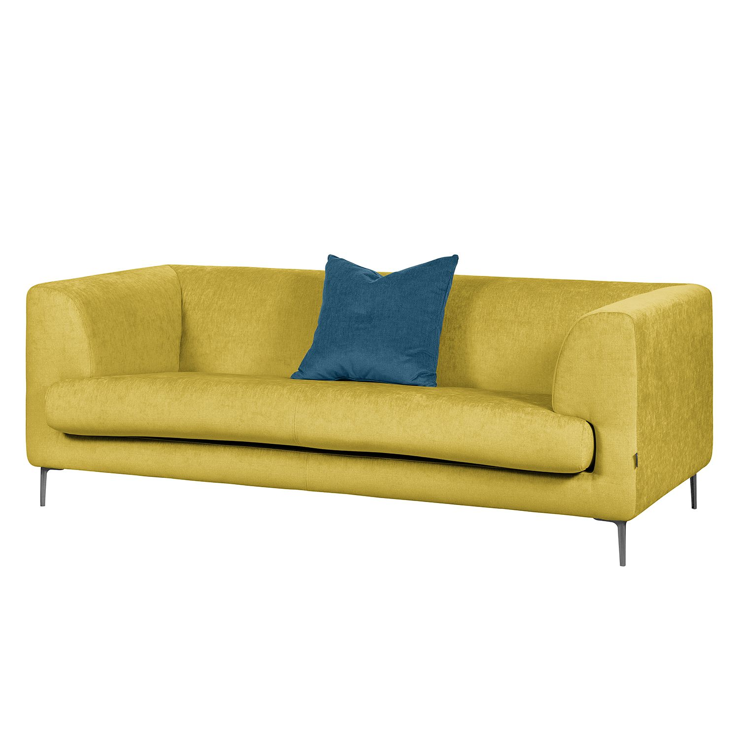 Sofa Sombret (2,5-Sitzer) - Webstoff - Lemon, Says Who