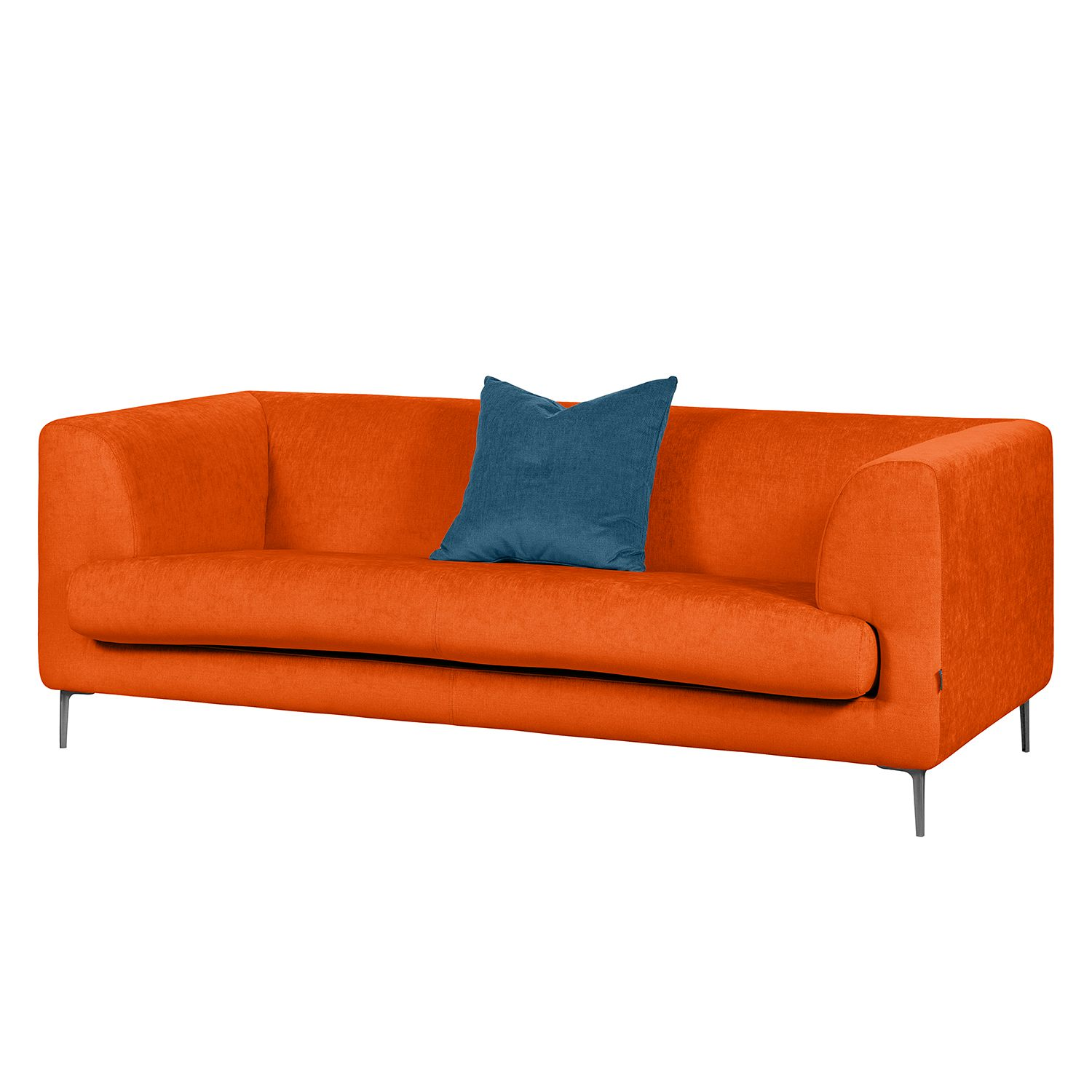 Sofa Sombret (2,5-Sitzer) - Webstoff - Orange, Says Who