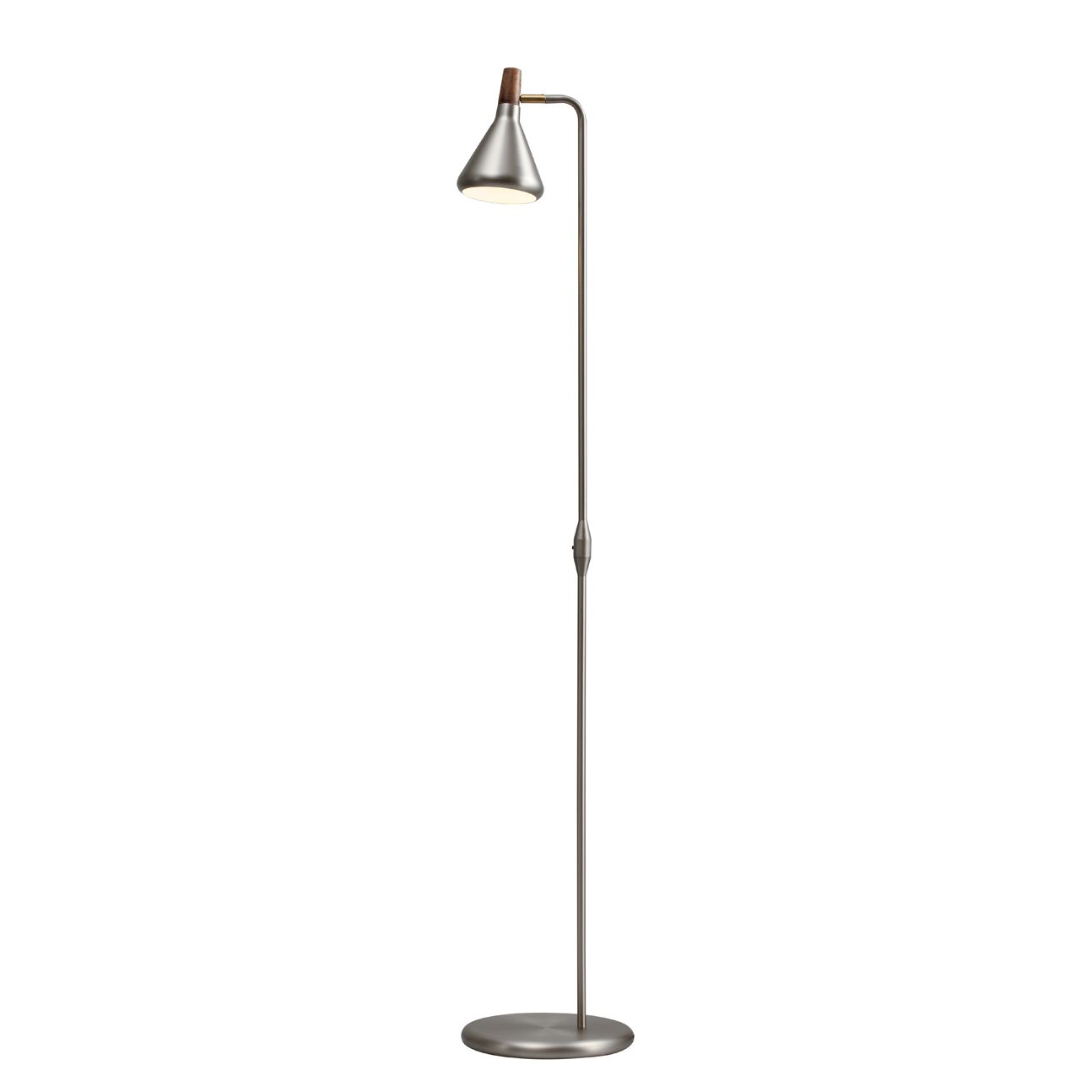 EEK A++, Stehleuchte Float - Metall Silber - 1-flammig, Nordlux