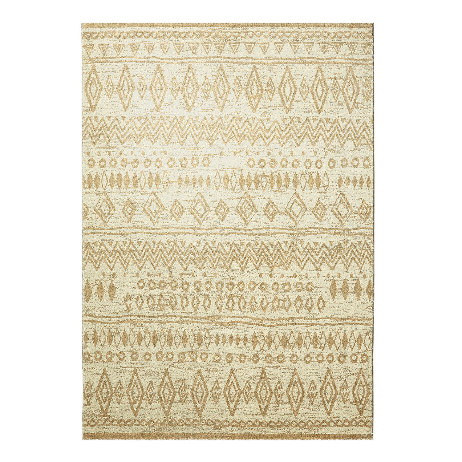 Teppich Contemporary Kelim - Beige - 120 x 170 cm, Wecon Home