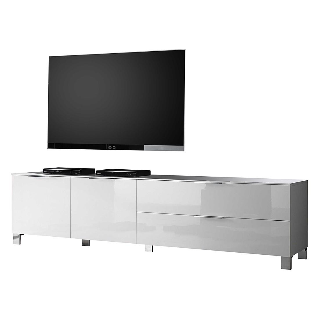 kommode sibilla hochglanz wei lc mobili m bel preiswert online kaufen vergleichen. Black Bedroom Furniture Sets. Home Design Ideas