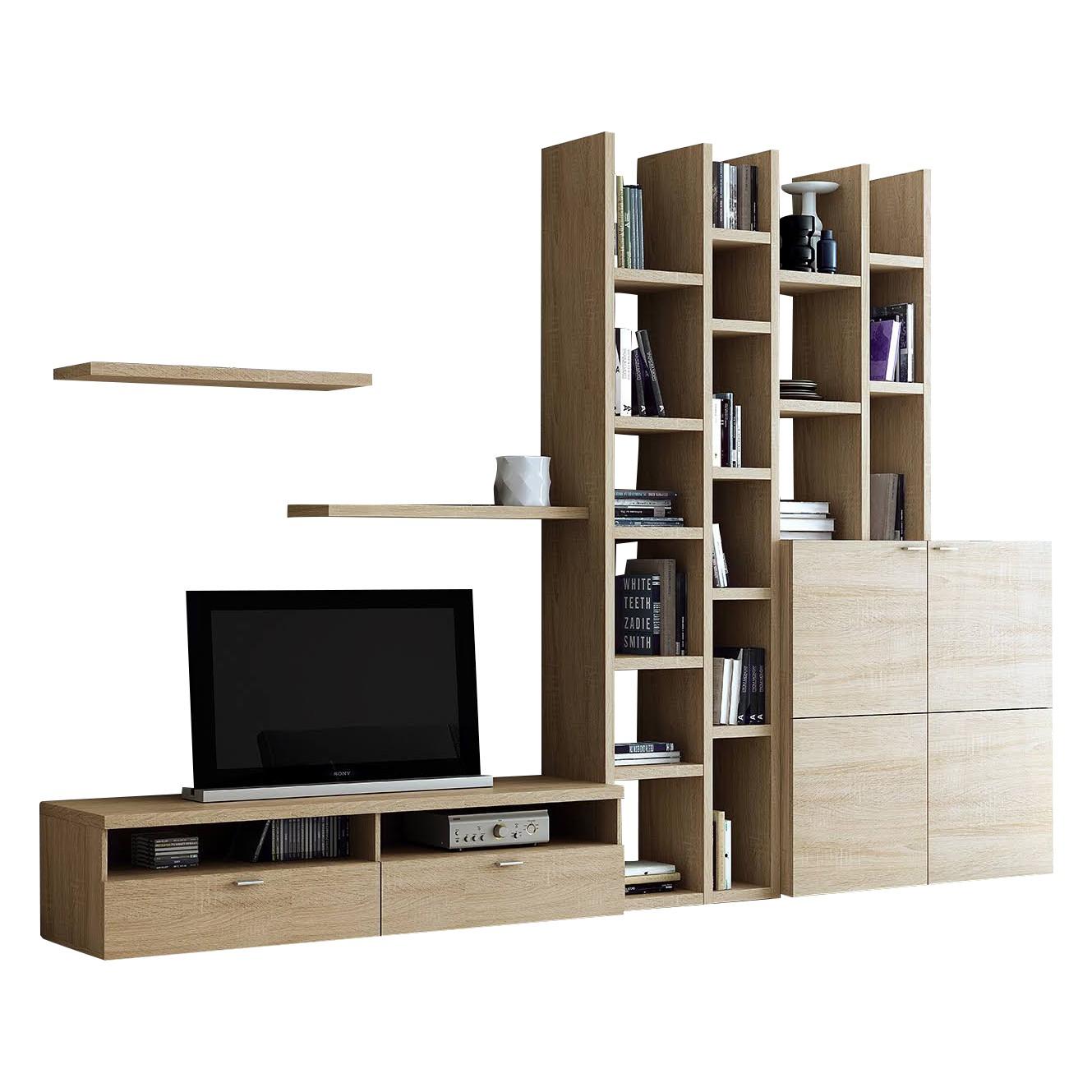 wohnwand altona jeanne and jerome. Black Bedroom Furniture Sets. Home Design Ideas