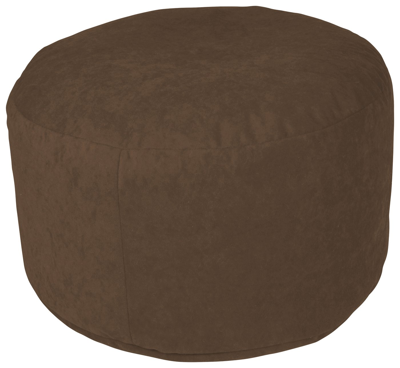 Home affaire Pouf, braun, dunkelbraun