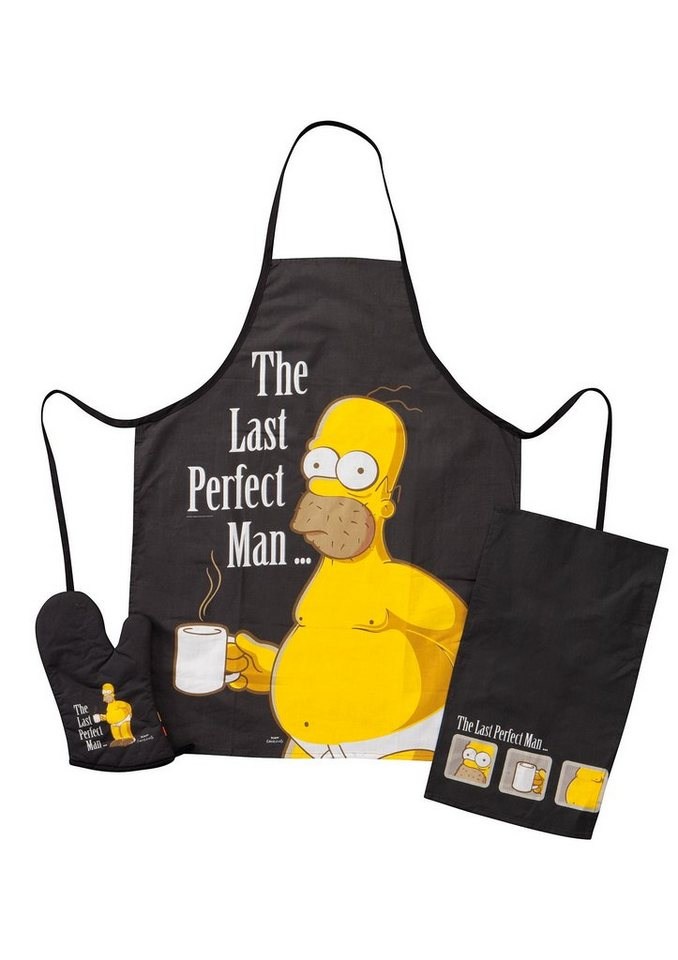 United Labels® United Labels Grillset, »The Simpsons, The Last perfect Man« (3tlg.)