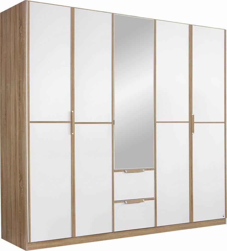 rauch pack s kleiderschrank wei breite 47 cm 1 t rig wei uni m bel preiswert online. Black Bedroom Furniture Sets. Home Design Ideas
