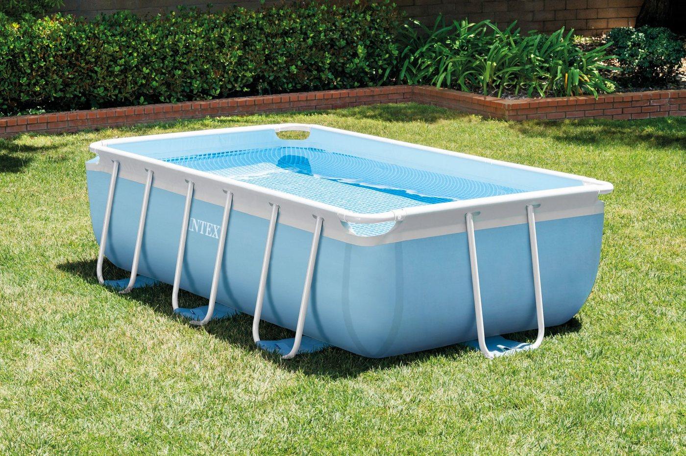 exit frame pool 4x2x1m grau grau grau m bel preiswert online kaufen vergleichen. Black Bedroom Furniture Sets. Home Design Ideas