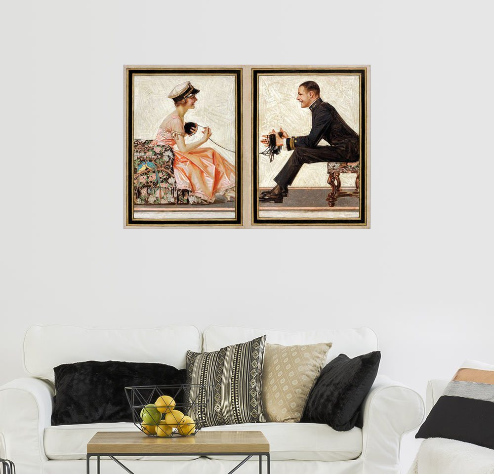 posterlounge wandbild joseph christian leyendecker die. Black Bedroom Furniture Sets. Home Design Ideas