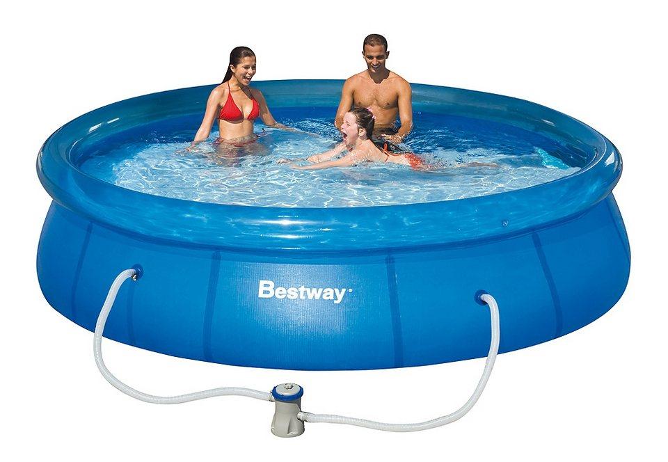 Bestway Rattan Frame Pool 366x100cm Mobel Preiswert Online Kaufen
