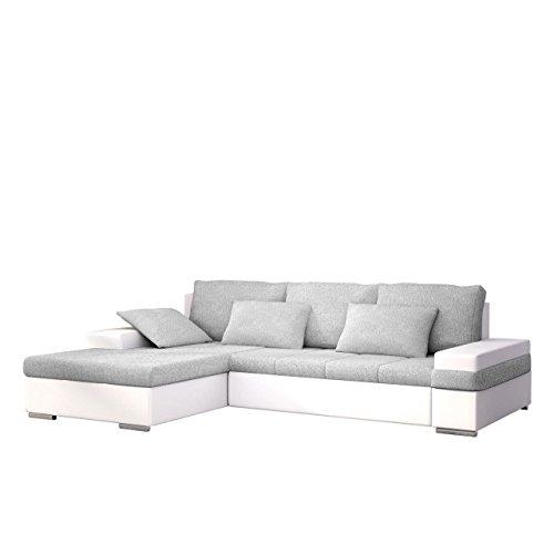 moderne ecksofa kent 220cm anthrazit inkl hocker und. Black Bedroom Furniture Sets. Home Design Ideas