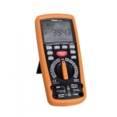 Beta Tools 1760/ohm-multãmetro Digital megaohmeter