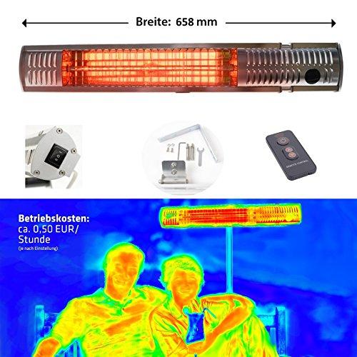 blumfeldt rising sun infrarot heizstrahler carbon heizelement gezielte w rmeabgabe. Black Bedroom Furniture Sets. Home Design Ideas