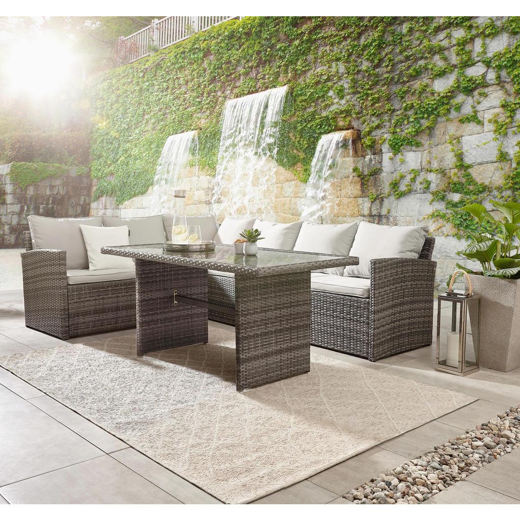 Ambia Garden Garten Relaxliege Aluminium Pulverbeschichtet