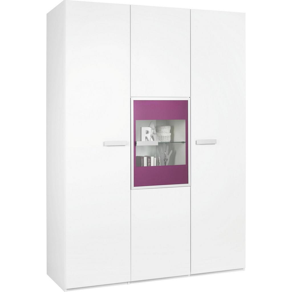 Paidi KLEIDERSCHRANK 3 -türig Weiß | Möbel preiswert online kaufen ...