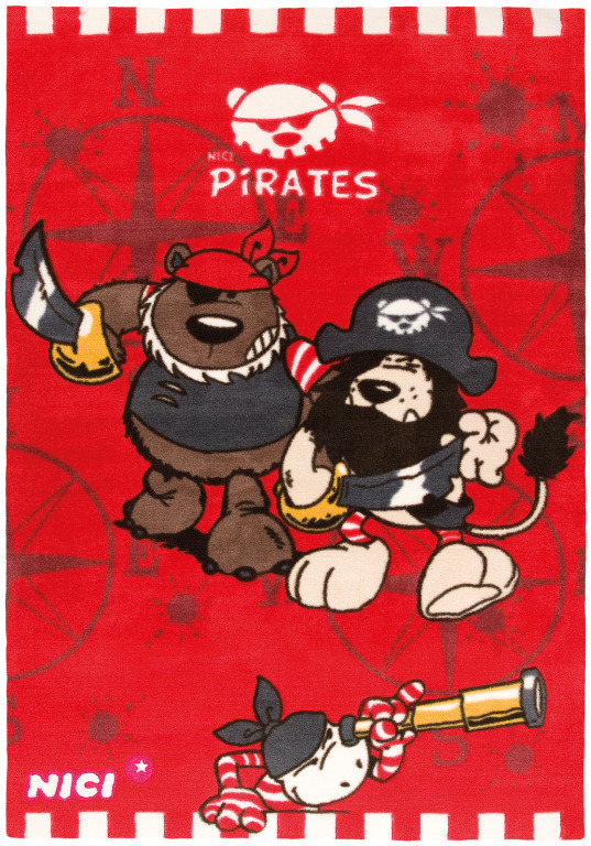 Kinderteppich PIRATES