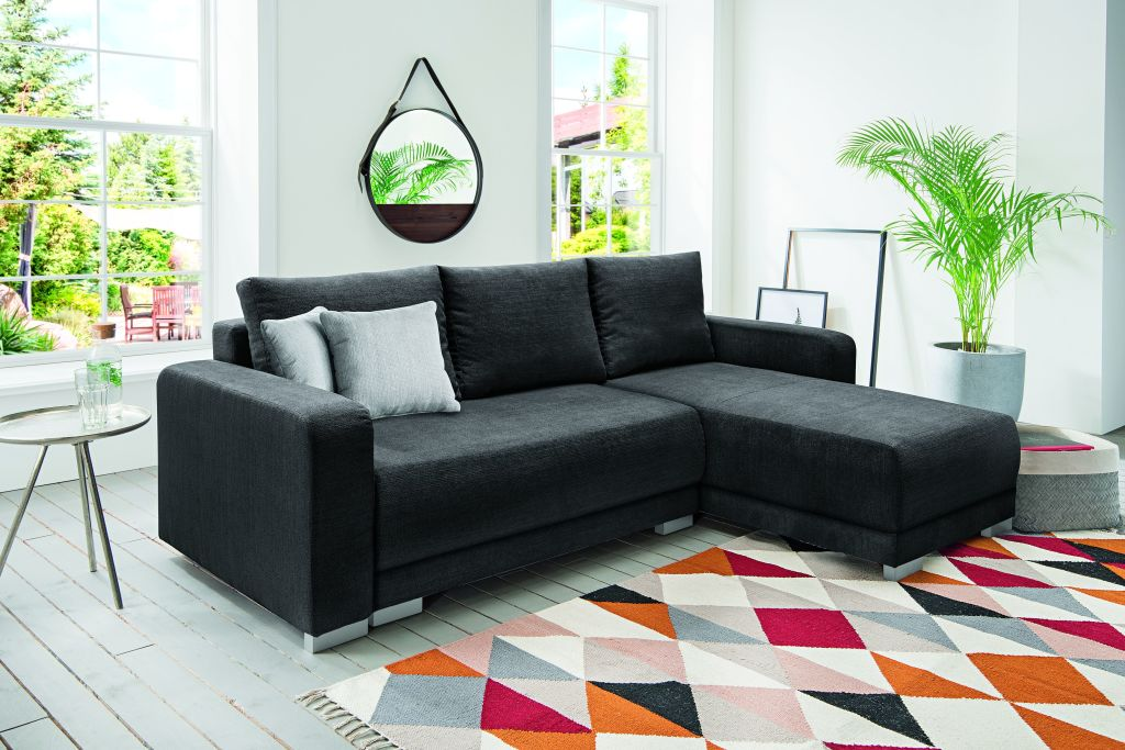funktions ecksofa perfect affaire ecksofa mit wahlweise. Black Bedroom Furniture Sets. Home Design Ideas