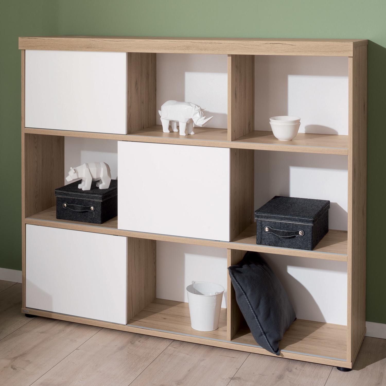 wohnwand caya kombi nr 22 w wei von hartmann m bel preiswert online kaufen vergleichen. Black Bedroom Furniture Sets. Home Design Ideas