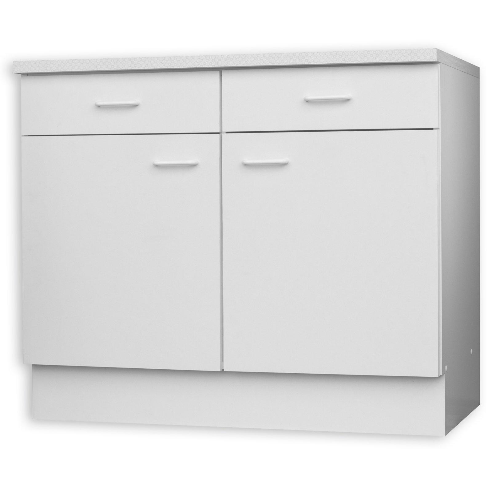 ROLLER Schubkasten-Anrichte Wien - weiß - 50x60 cm | Möbel preiswert ...